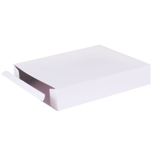 Caixa de presente 27x21,5x5cm - branca