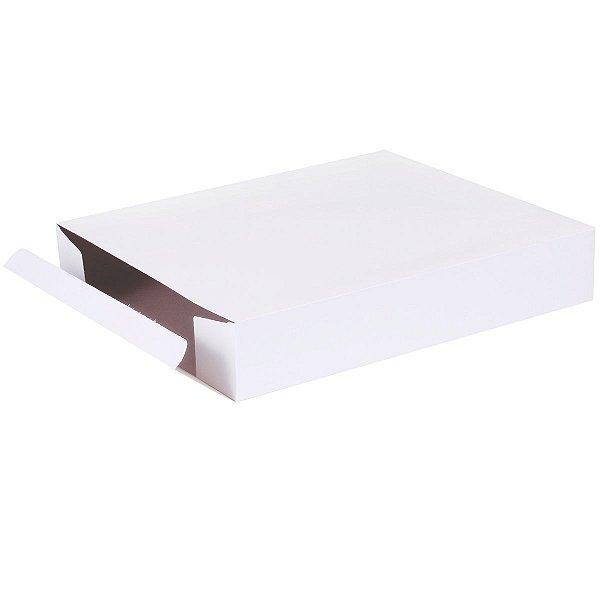 Caixa de presente 36x28x6,5cm - branca