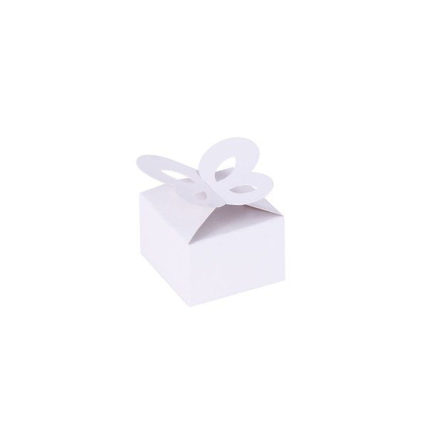 Caixa de presente 3x4,5x4,5cm - branca