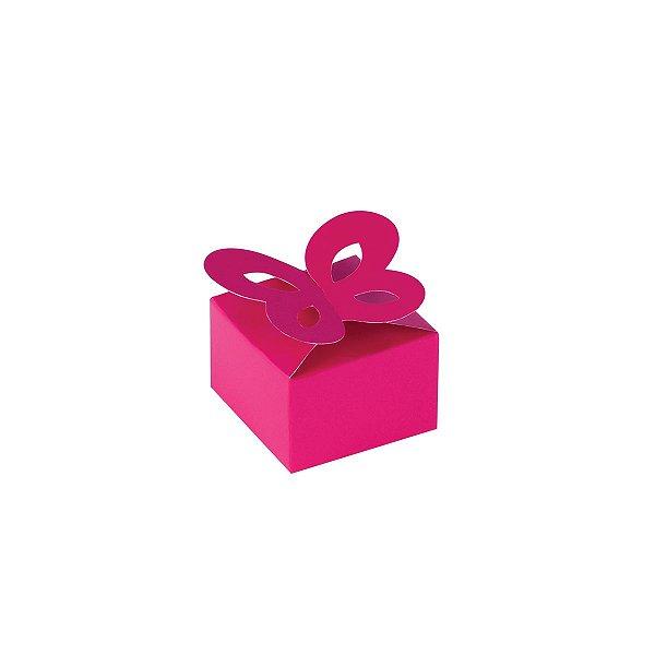 Caixa de presente 3x4,5x4,5cm - pink
