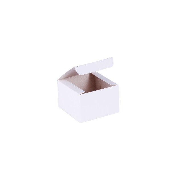 Caixa de presente 5,9x5,9x4cm - branca