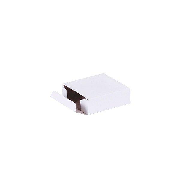 Caixa de presente 6,5x6,5x2cm - branca