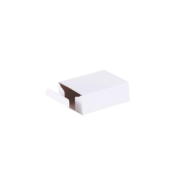 Caixa de presente 7,4x5,8x2,7cm - branca