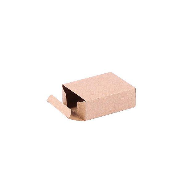 Caixa de presente 7,4x5,8x2,7cm - kraft