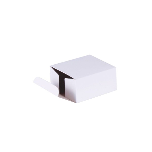 Caixa de presente 8x7,5x4cm - branca
