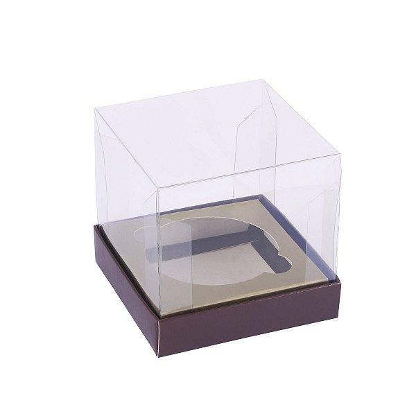 Caixa para cupcake 8x8x8cm - 1 cupcake