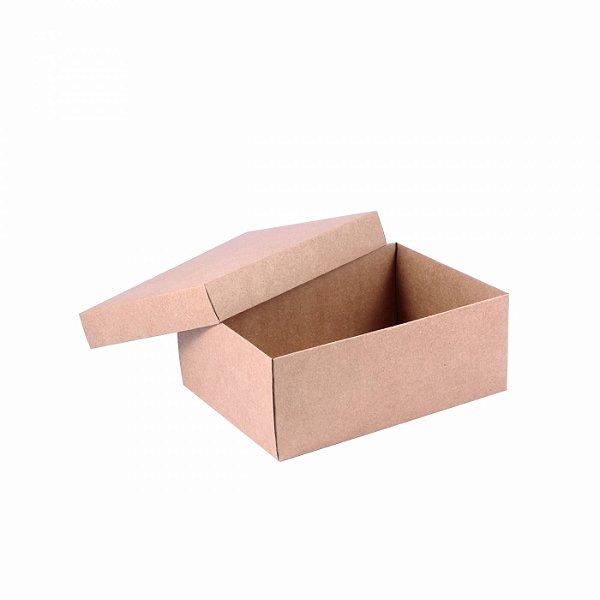 Caixa tampa e base 20x15x8