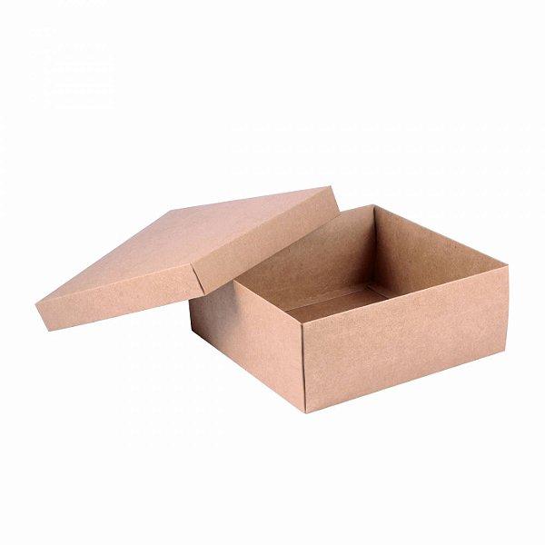 Caixa tampa e base 20x20x8