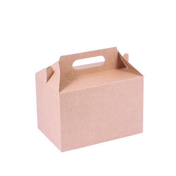 Embalagem de presente 12x18x12cm - kraft