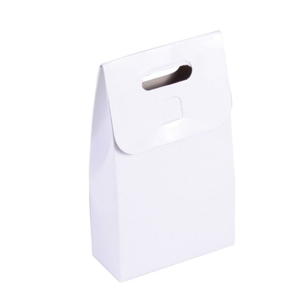 Embalagem de presente 12x7x3cm - branca