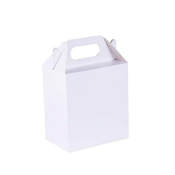 Embalagem de presente 15,5x14,2x9cm - branca
