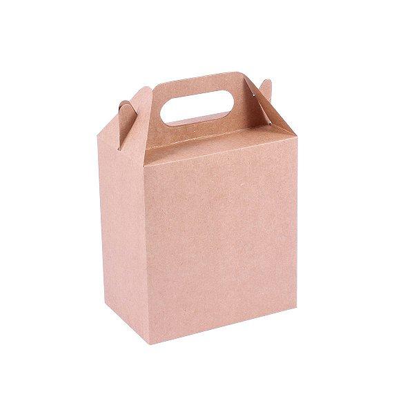 Embalagem de presente 15,5x14,2x9cm - kraft