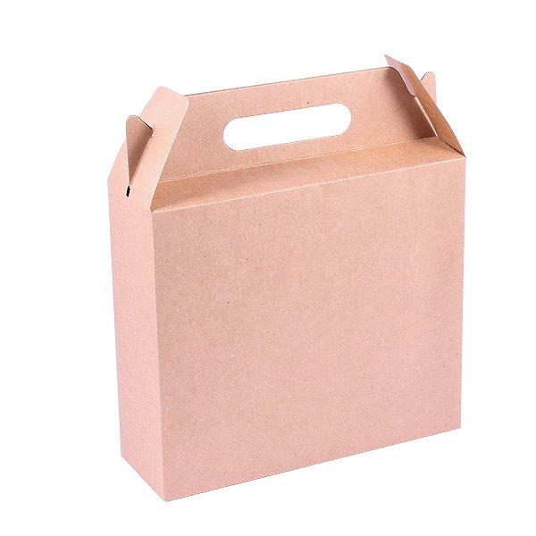 Embalagem de presente 22x19x7cm - kraft