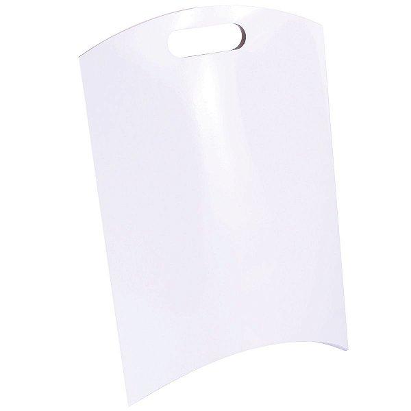 Embalagem de presente 25x25x6cm - branca