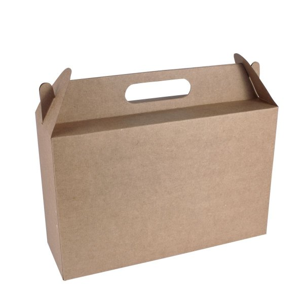 Embalagem de presente 30x19,5x6cm - kraft