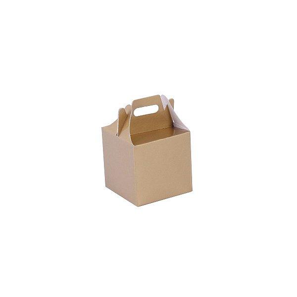 Embalagem de presente 5x5x5cm - ouro