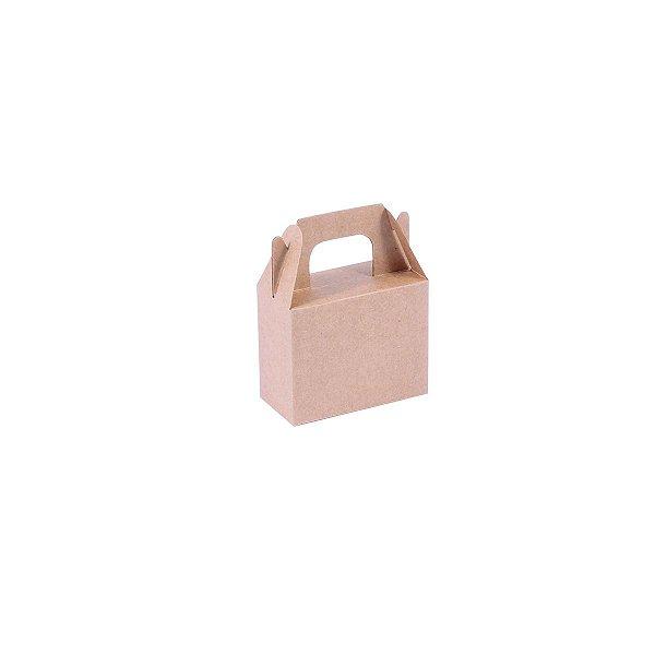 Embalagem de presente 8x6,5x4cm - kraft