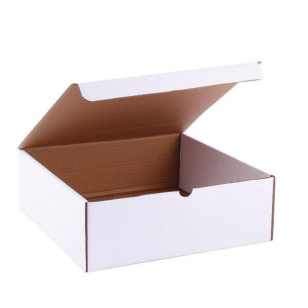 Embalagem p/ Torta 32x33x10cm - branca