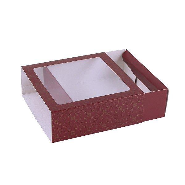 Embalagem para doces 12x12x4cm - 9 doces