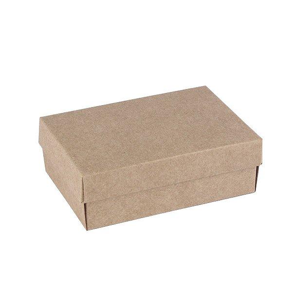 Embalagem para doces 12x8x4cm - 6 doces - kraft
