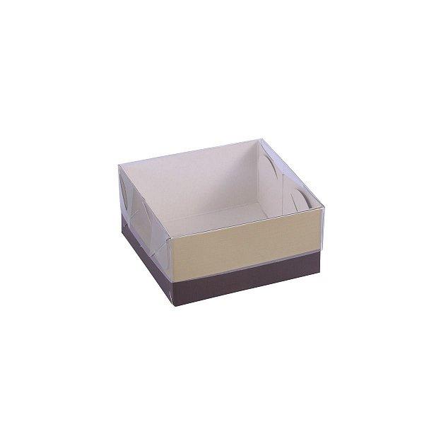 Embalagem para doces 8x8x4cm - 4 doces