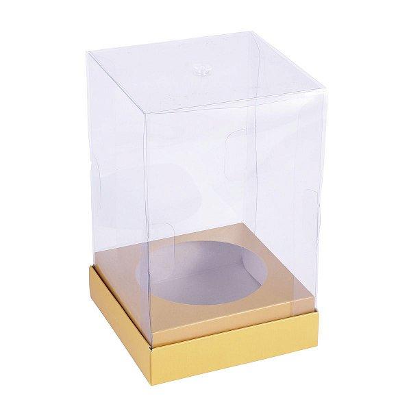 Embalagem para panetone natal mini 10x10x6