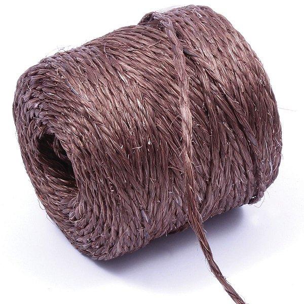 Fio de Sisal bobina c/250gr. - chocolate