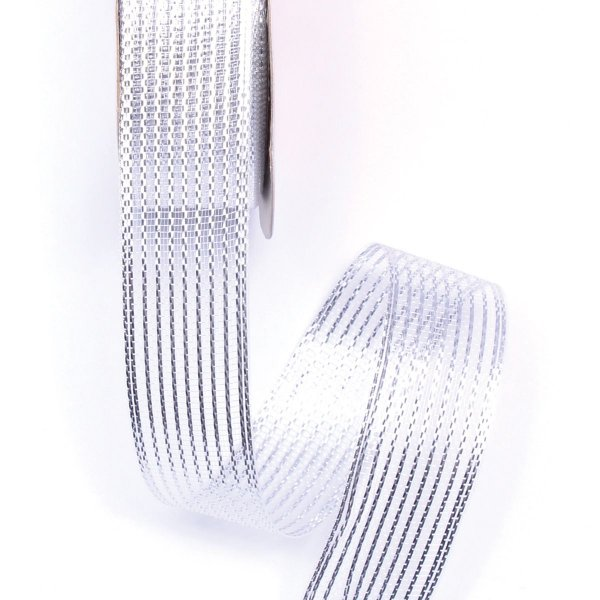 Fita 22mm c/10mts - prata