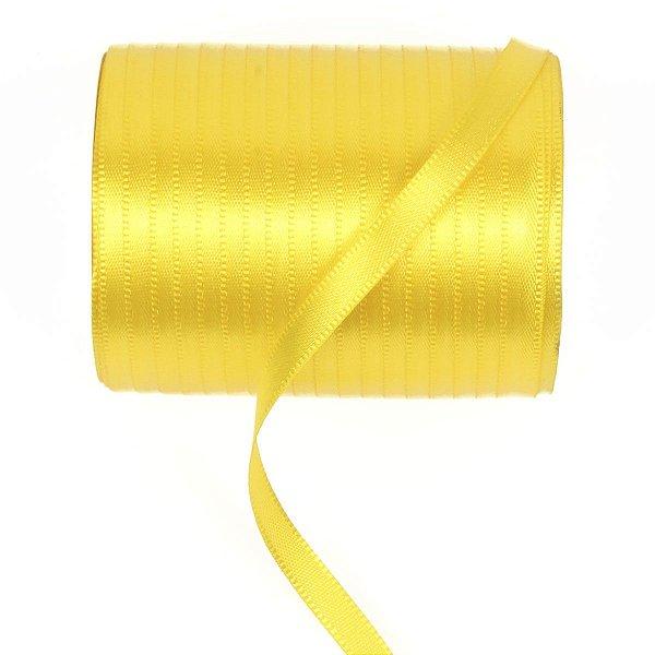 Fita de cetim Gitex nº1 - 6mm c/100mts - 109 amarela