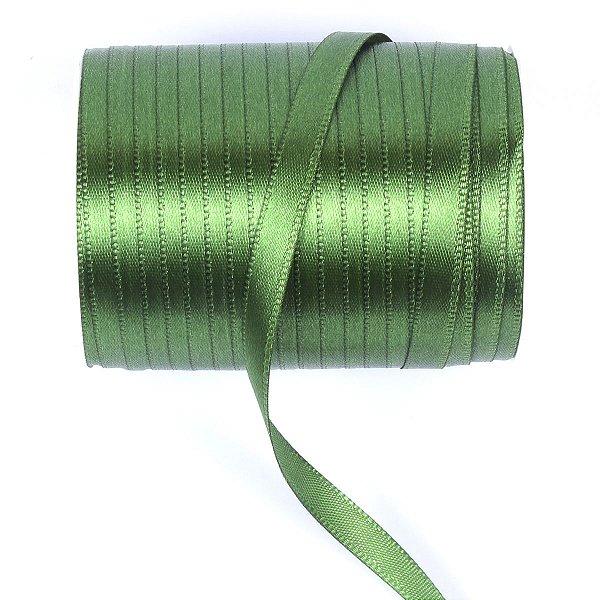 Fita de cetim Gitex nº1 - 6mm c/100mts - 123 verde