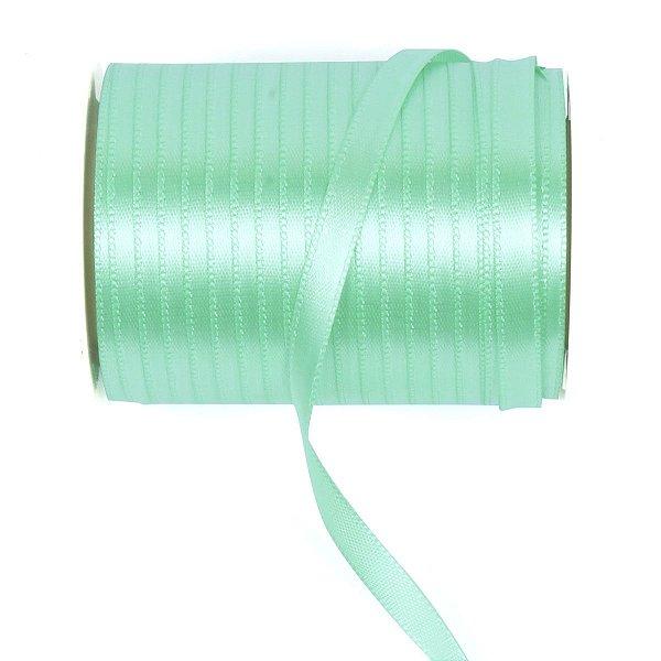 Fita de cetim Gitex nº1 - 6mm c/100mts - 131 verde água