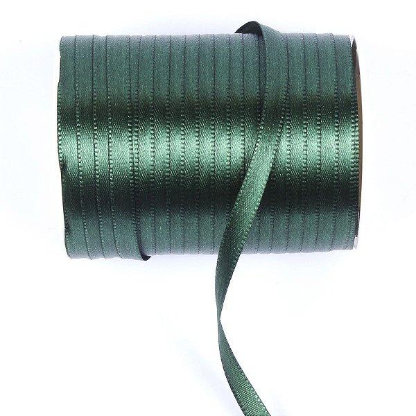 Fita de cetim Gitex nº1 - 6mm c/100mts - 139 verde