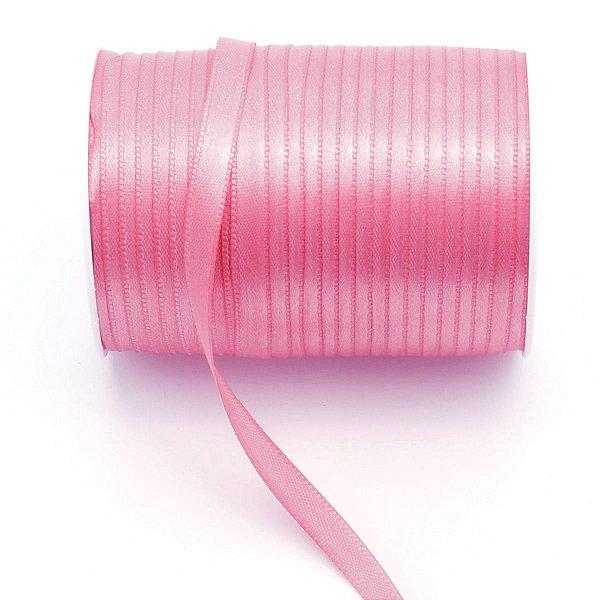 Fita de cetim Gitex nº1 - 7mm c/100mts - 183 rosa chiclete