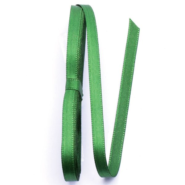 Fita de cetim Gitex nº1 - 7mm c/10mts - 123 verde