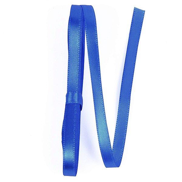 Fita de cetim Gitex nº1 - 7mm c/10mts - 158 azul