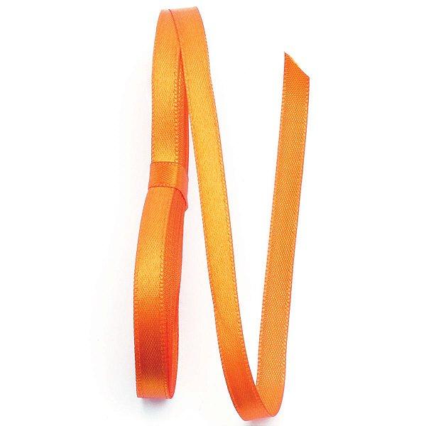 Fita de cetim Gitex nº1 - 7mm c/10mts - 179 laranja