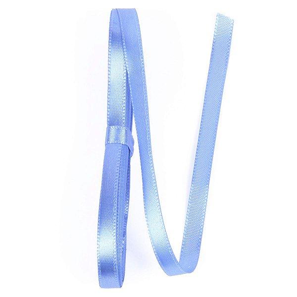 Fita de cetim Gitex nº1 - 7mm c/10mts - 199 azul