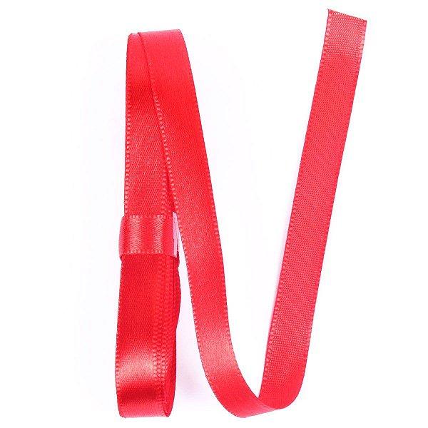 Fita de cetim Gitex nº2 - 10mm c/10mts -  107 vermelha