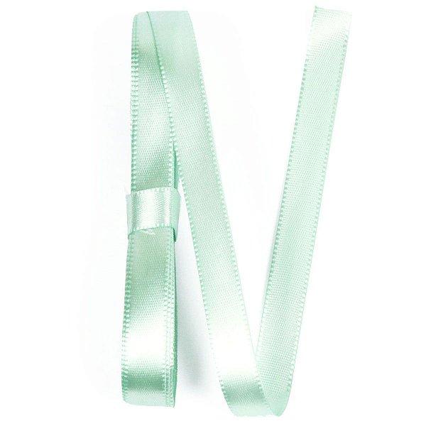 Fita de cetim Gitex nº2 - 10mm c/10mts -  126 verde água bebê
