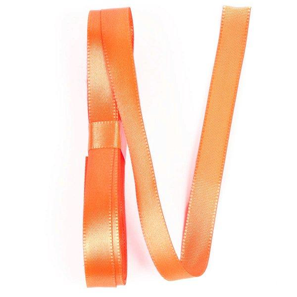 Fita de cetim Gitex nº2 - 10mm c/10mts -  153 laranja