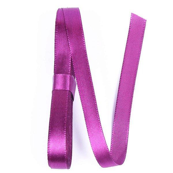Fita de cetim Gitex nº2 - 10mm c/10mts -  162 violeta