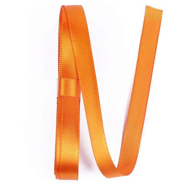 Fita de cetim Gitex nº2 - 10mm c/10mts -  179 laranja