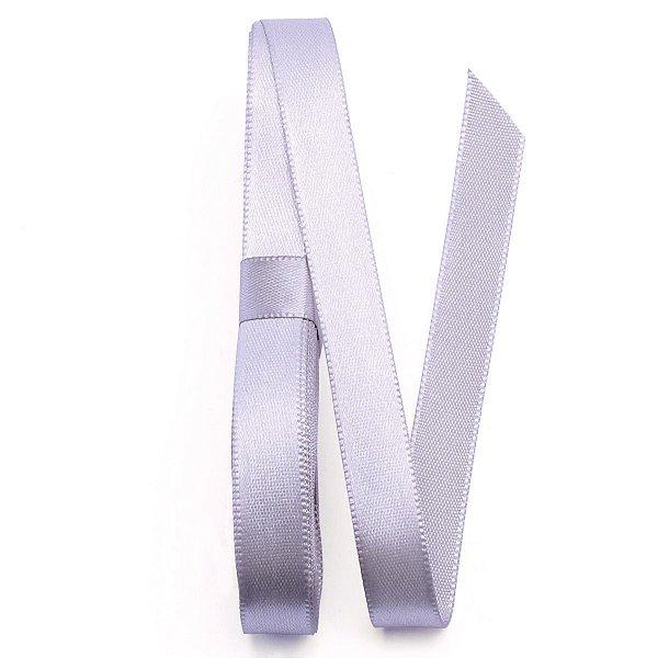 Fita de cetim Gitex nº2 - 10mm c/10mts - 124 prata