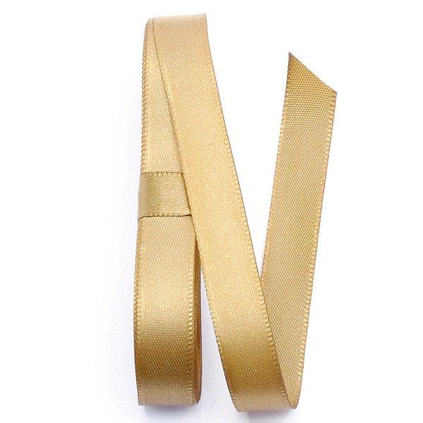 Fita de cetim Gitex nº2 - 10mm c/10mts - 138 dourada
