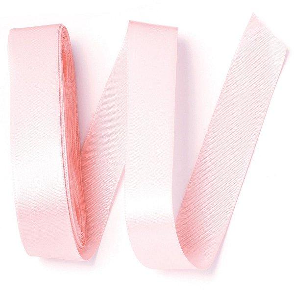 Fita de cetim Gitex nº5 - 23mm c/10mts - 103 rosa bebe