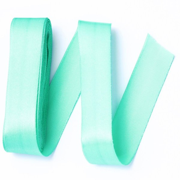 Fita de cetim Gitex nº5 - 23mm c/10mts - 131 verde água