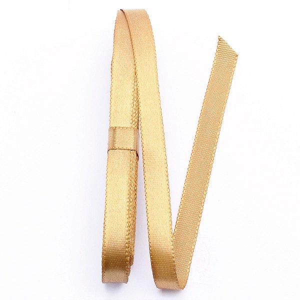 Fita de cetim Sinimbu nº2 - 10mm c/10mts - 1148 dourada