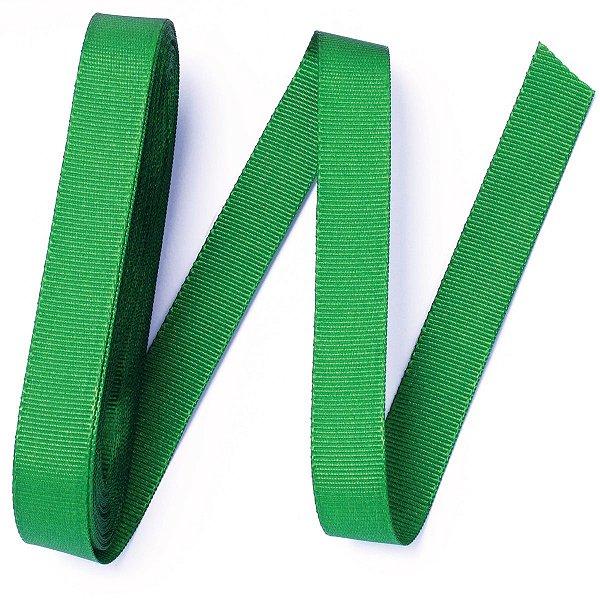Fita de gorgurão Sinimbu nº3 - 16mm c/10mts - 013 verde