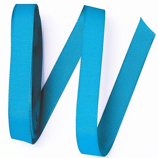Fita de gorgurão Sinimbu nº3 - 16mm c/10mts - 1723 azul