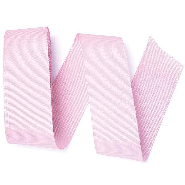 Fita de gorgurão Sinimbu nº9 - 38mm c/10mts - 024 rosa bebê